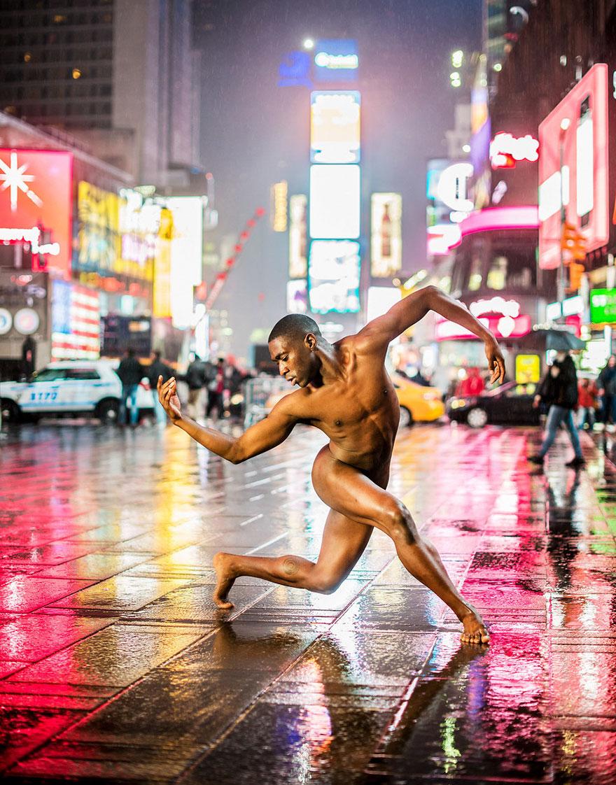 Обнажённые танцоры в фотографиях Джордана Мэттера 3