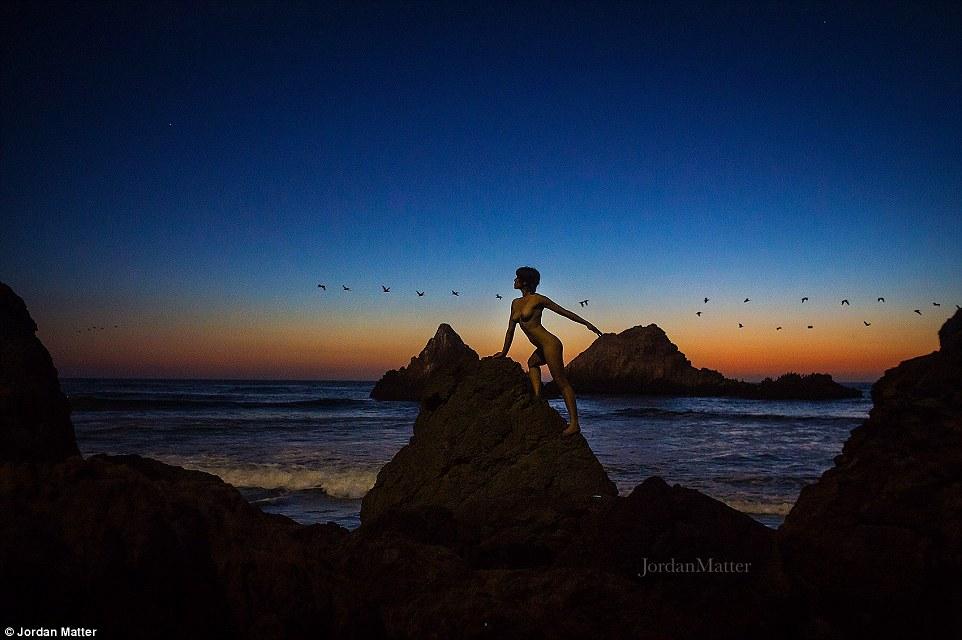 Обнажённые танцоры в фотографиях Джордана Мэттера 30