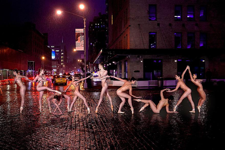 Обнажённые танцоры в фотографиях Джордана Мэттера 5