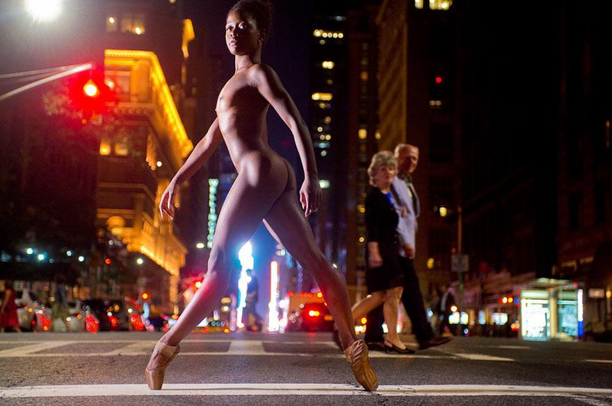 Обнажённые танцоры в фотографиях Джордана Мэттера 7