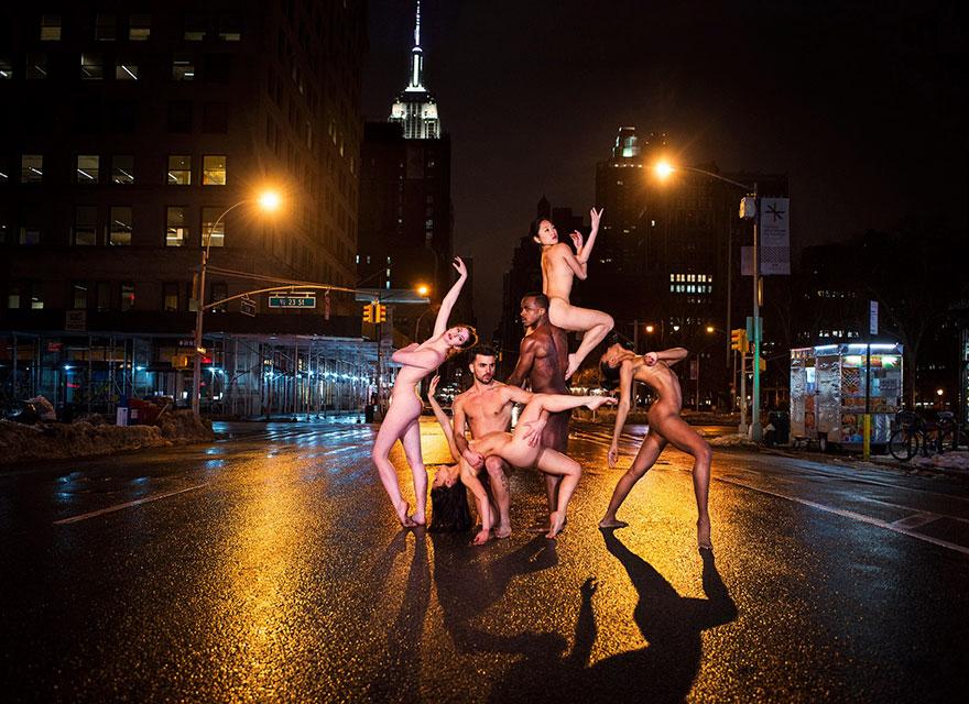 Обнажённые танцоры в фотографиях Джордана Мэттера 8