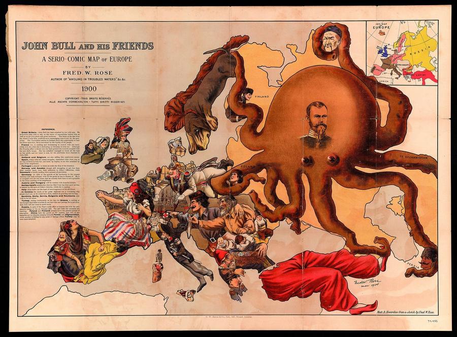 символические карты Европы 12