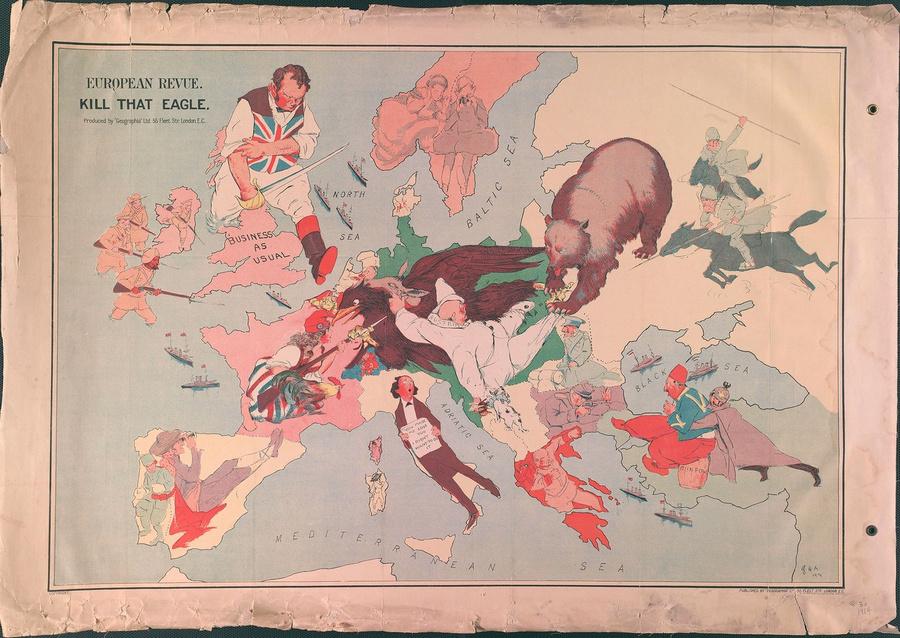 символические карты Европы 15