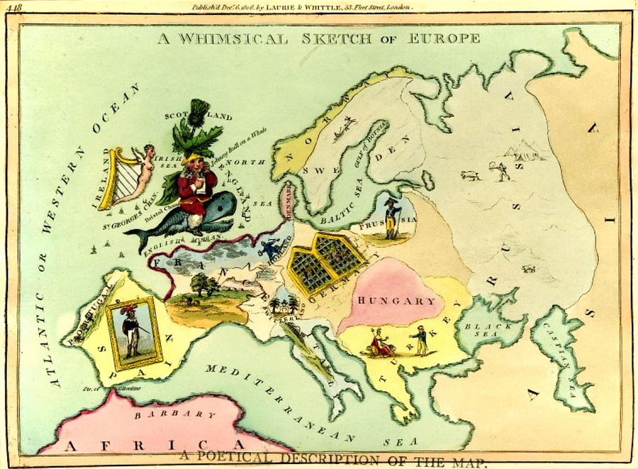 символические карты Европы 2
