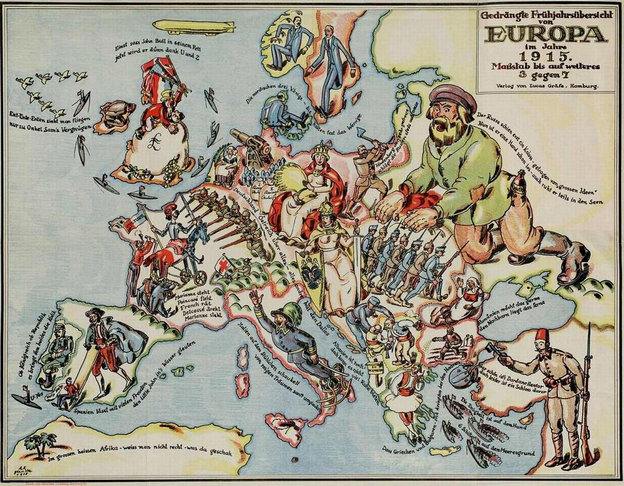 символические карты Европы 25