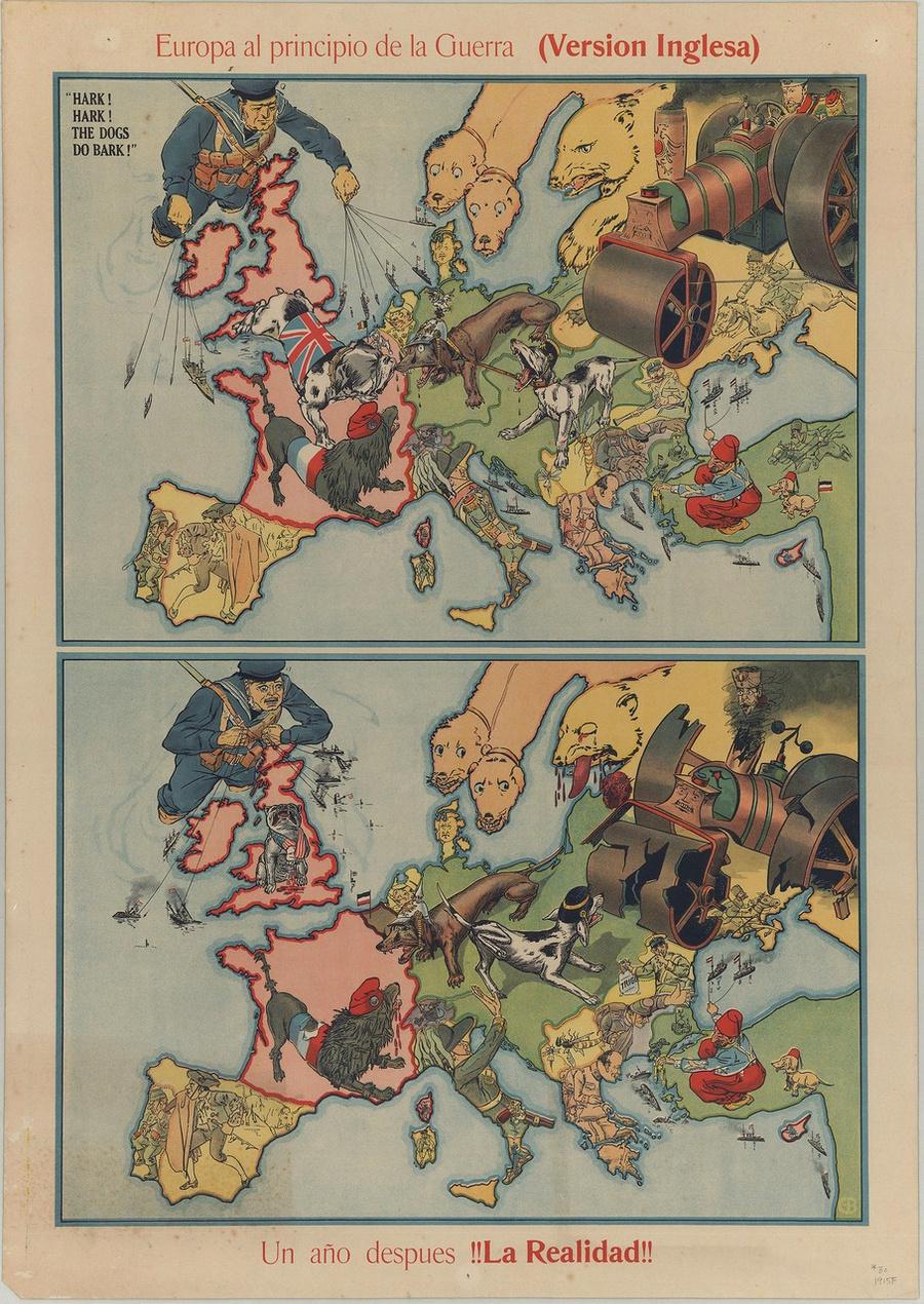 символические карты Европы 27