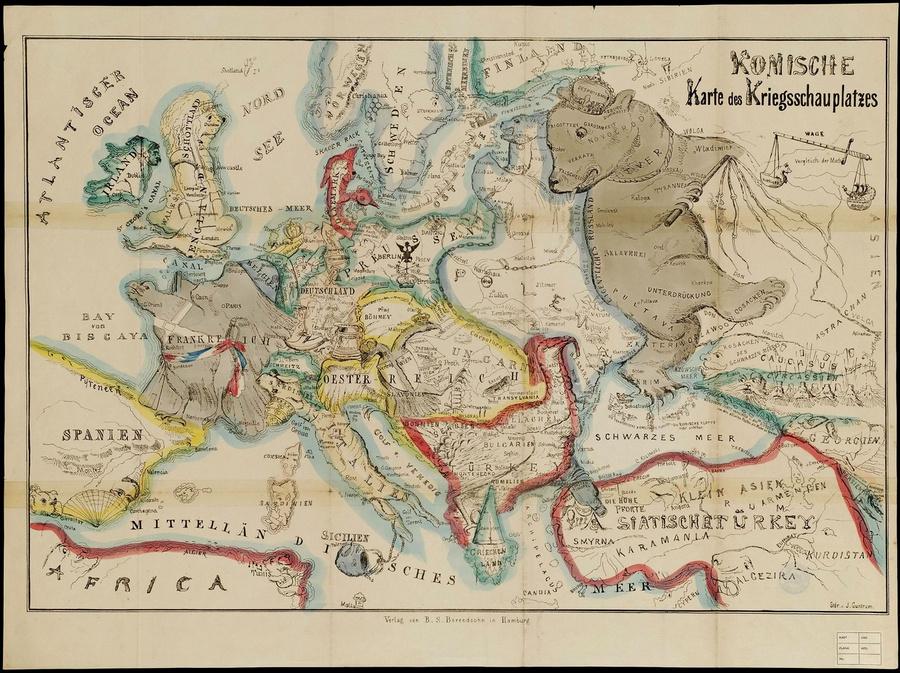 символические карты Европы 4