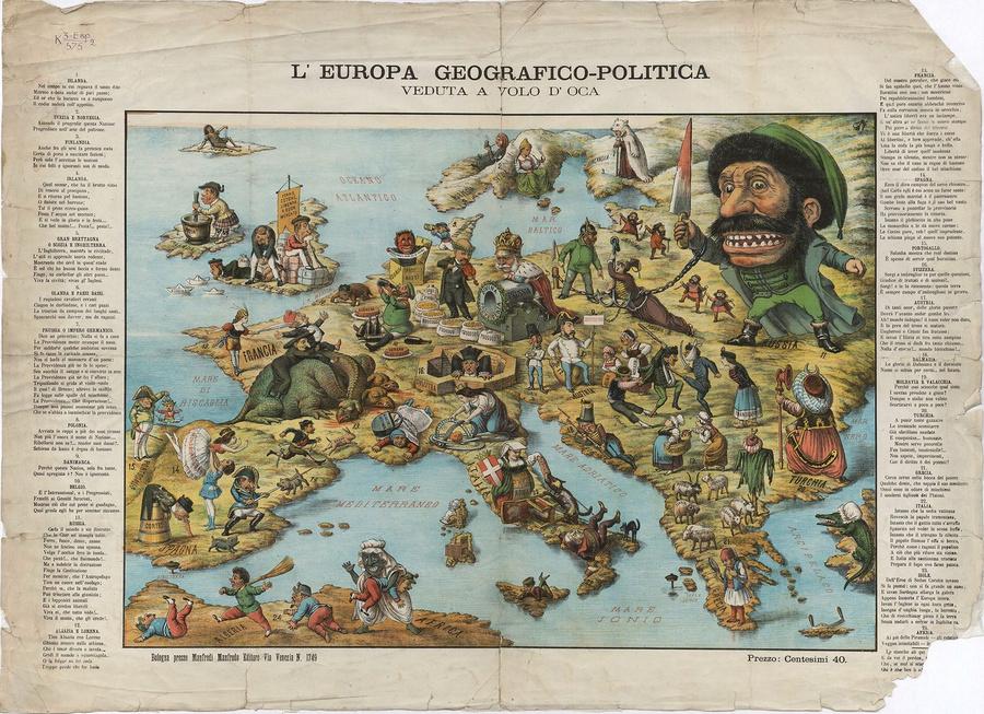 символические карты Европы 5