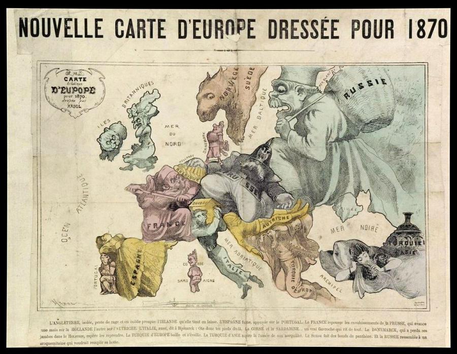 символические карты Европы 6