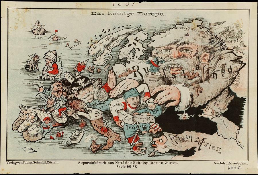 символические карты Европы 7