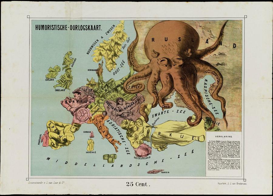 символические карты Европы 8