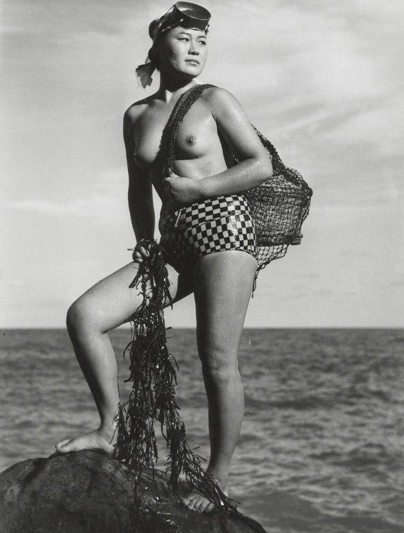 «Женщины моря». Фотограф Ивасе Ёсиюки 1