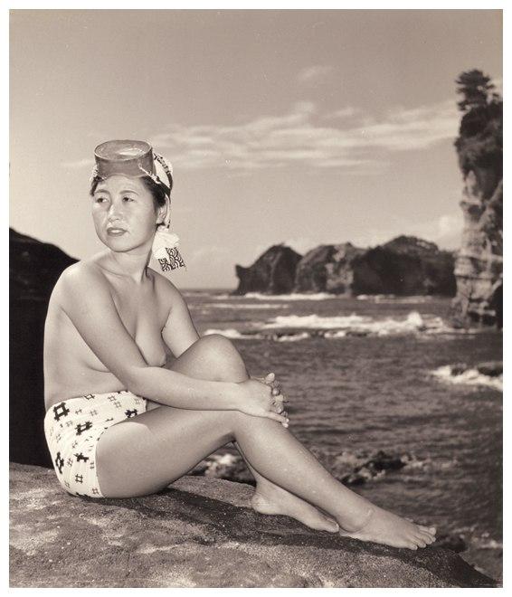 «Женщины моря». Фотограф Ивасе Ёсиюки 25