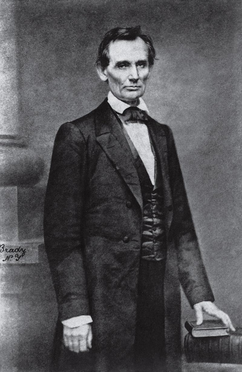 Abraham Lincoln Mathew Brady 1860