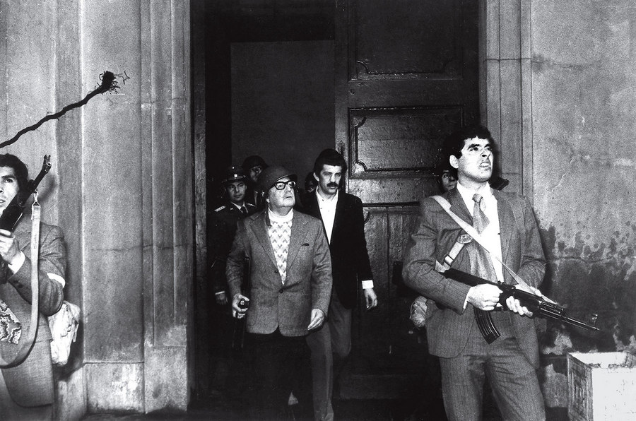 Allendes Last Stand Luis Orlando Lagos 1973