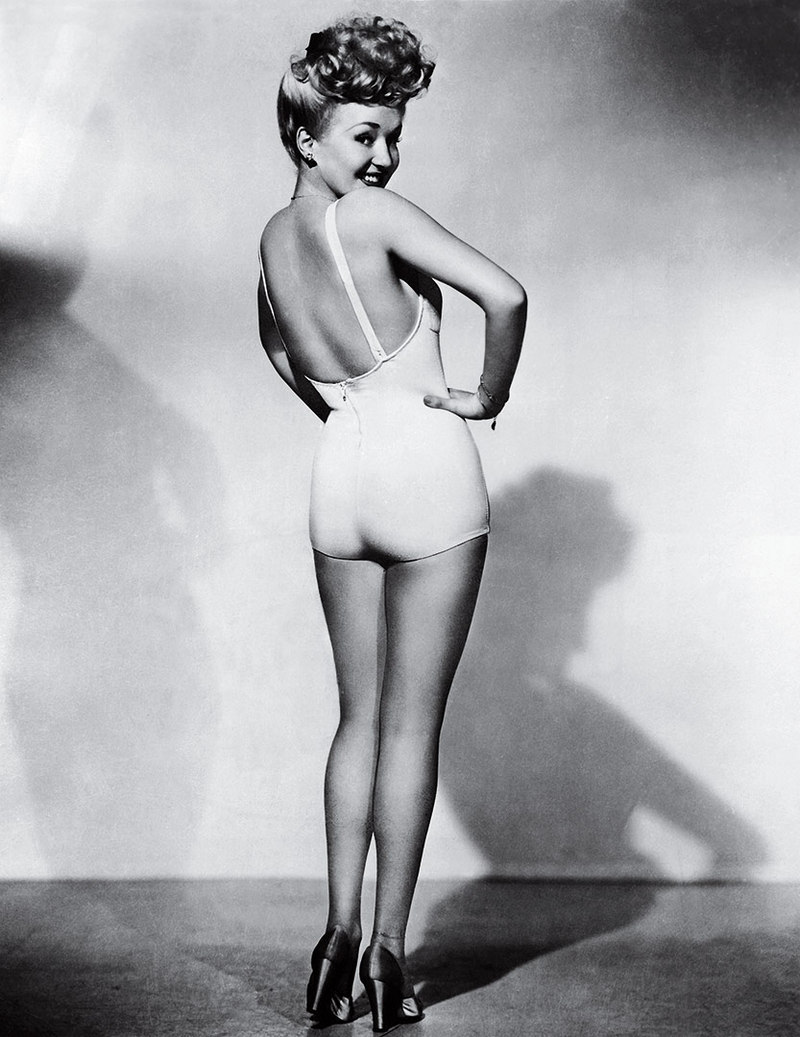 Betty Grable Frank Powolny 1943