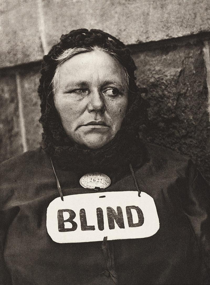 Blind Paul Strand 1916