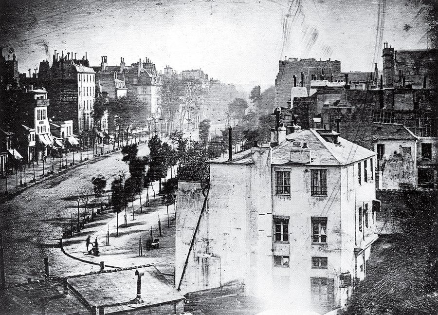 Boulevard du Temple Louis Daguerre 1839
