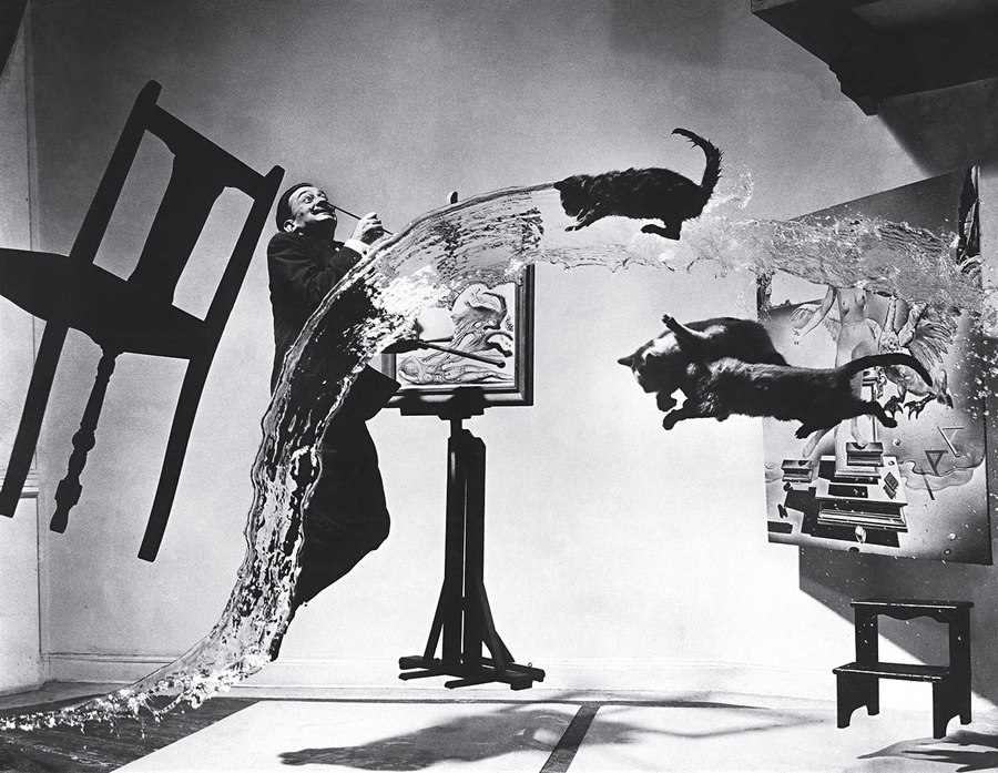 Dalí Atomicus Philippe Halsman 1948