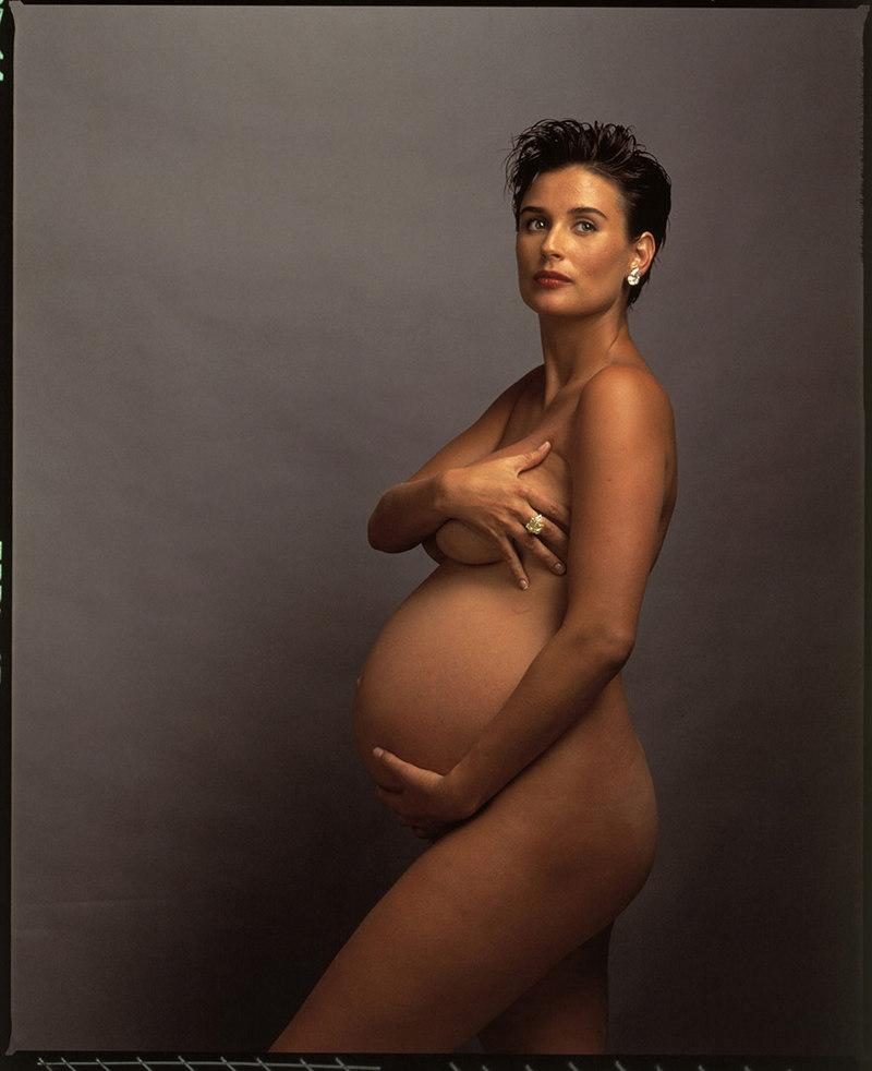 Demi Moore Annie Leibovitz 1991