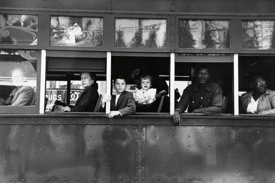 TrolleyNew Orleans Robert Frank 1955