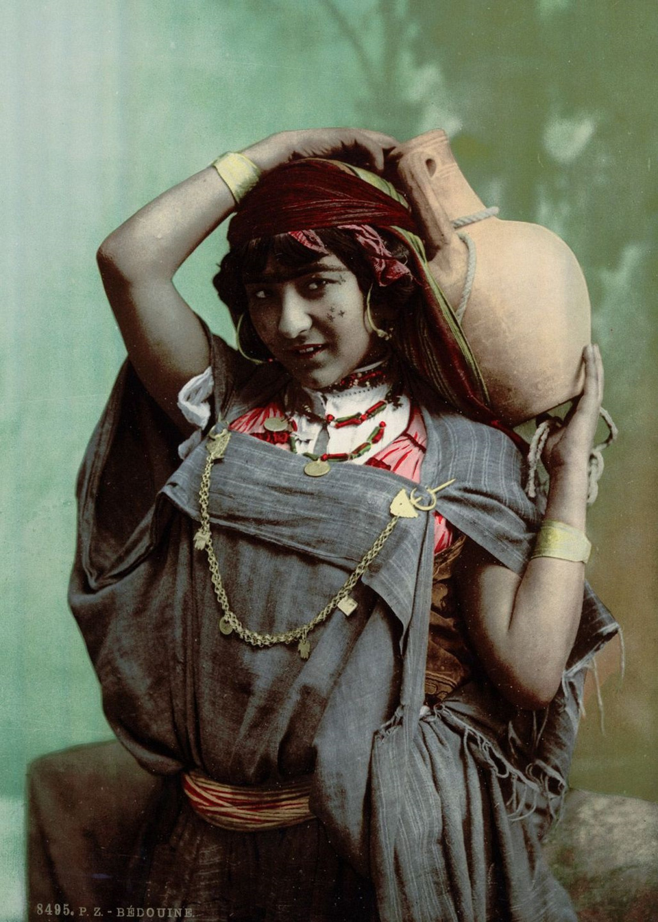A Bedouin woman Tunis