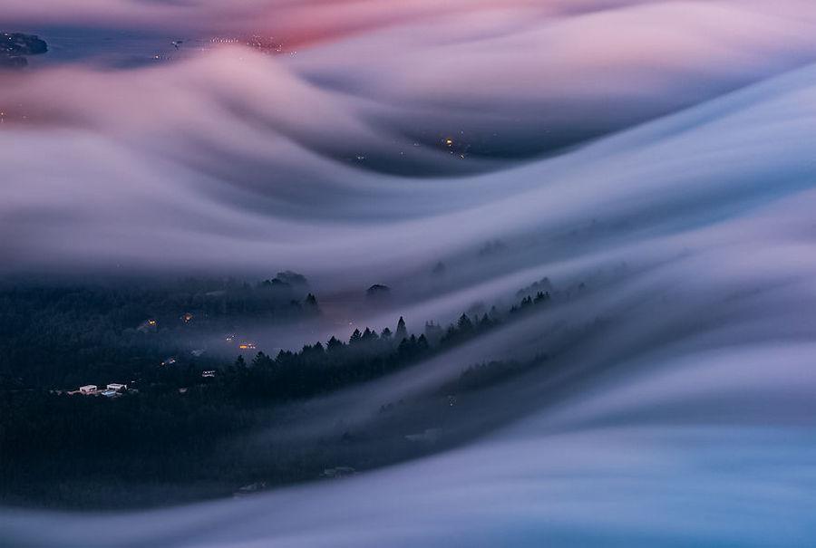 Туман волнами-самое прекрасное, что я снял после 8 лет экспериментов 1