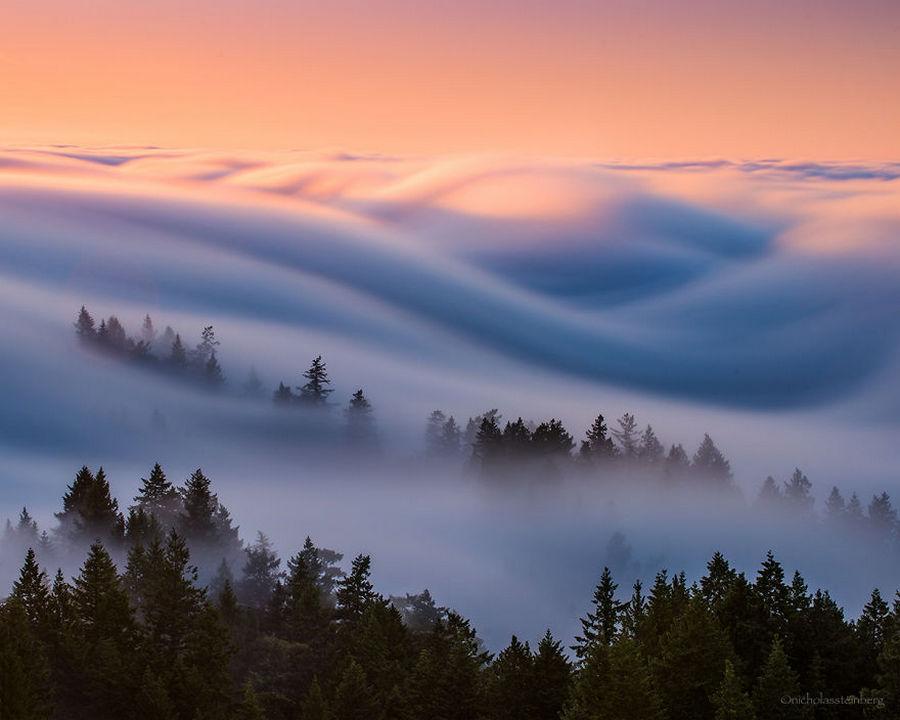 Туман волнами-самое прекрасное, что я снял после 8 лет экспериментов 5