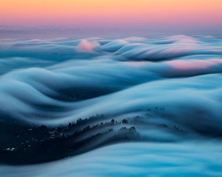 Туман волнами-самое прекрасное, что я снял после 8 лет экспериментов 6
