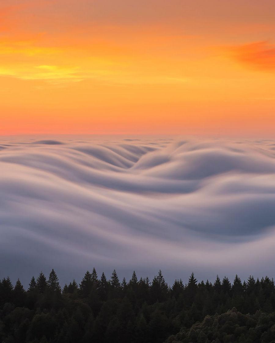 Туман волнами-самое прекрасное, что я снял после 8 лет экспериментов 9