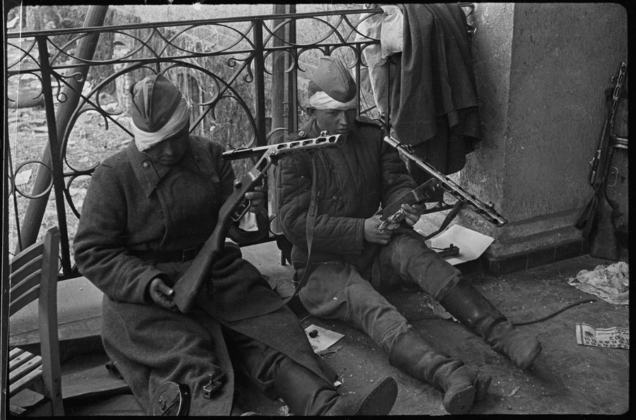Уникальные фотографии Второй мировой войны 9