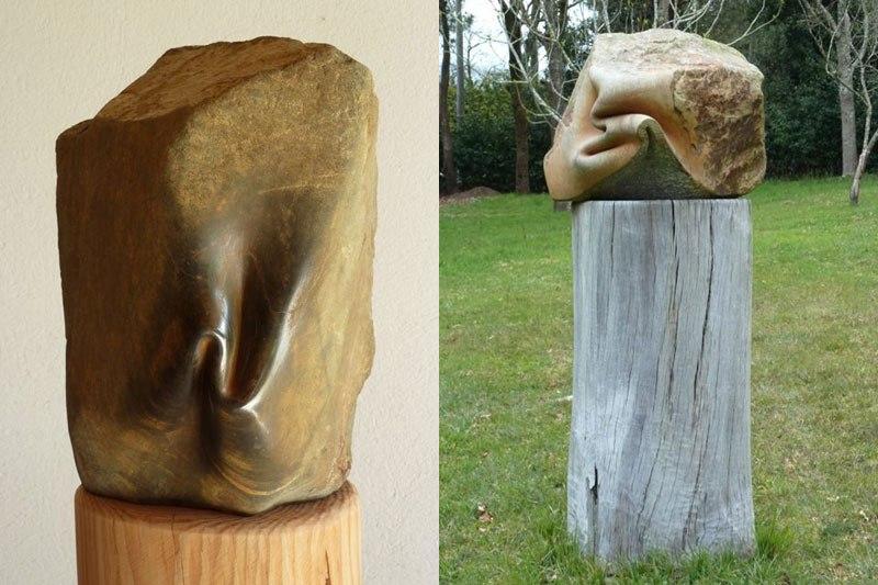 Скульптор, у которого волшебные отношения с камнями 20