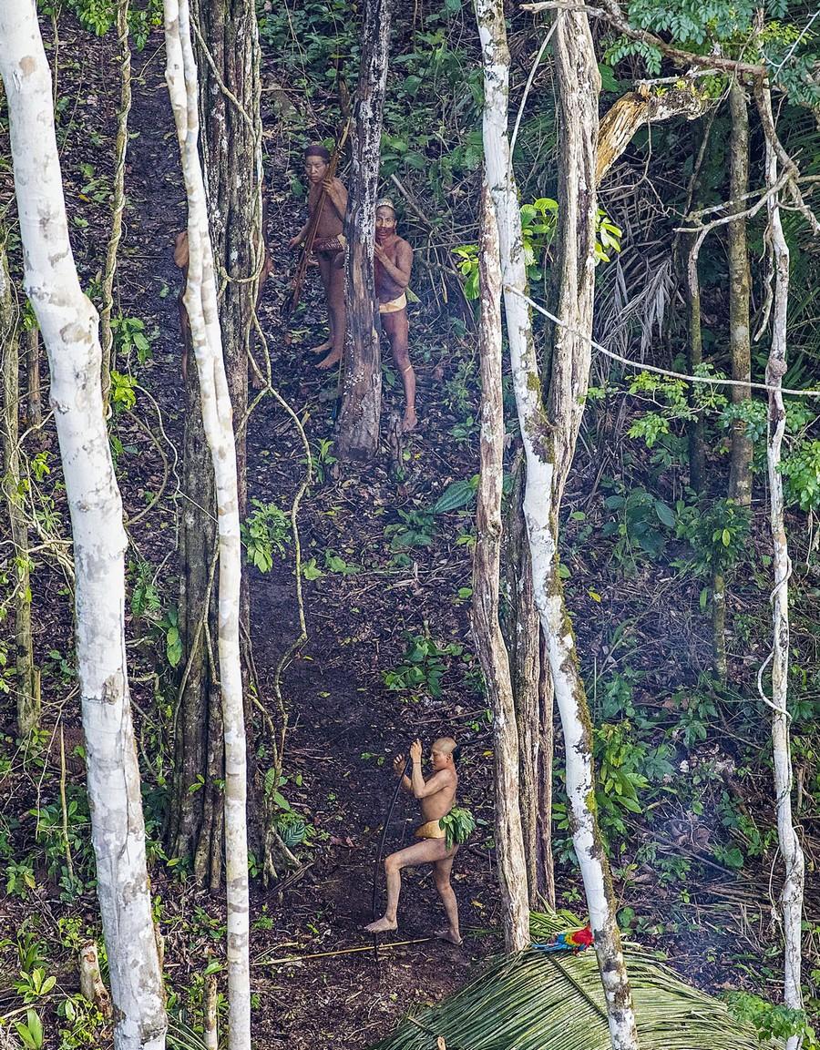 Неизвестное племя в джунглях Амазонии 3