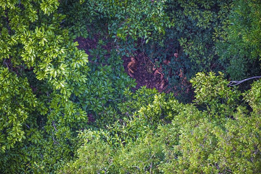 Неизвестное племя в джунглях Амазонии 8