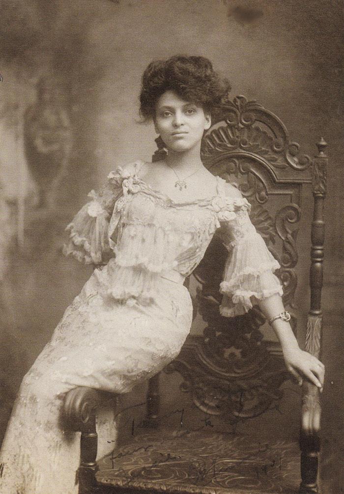 Самые красивые женщины 1900-х годов 4