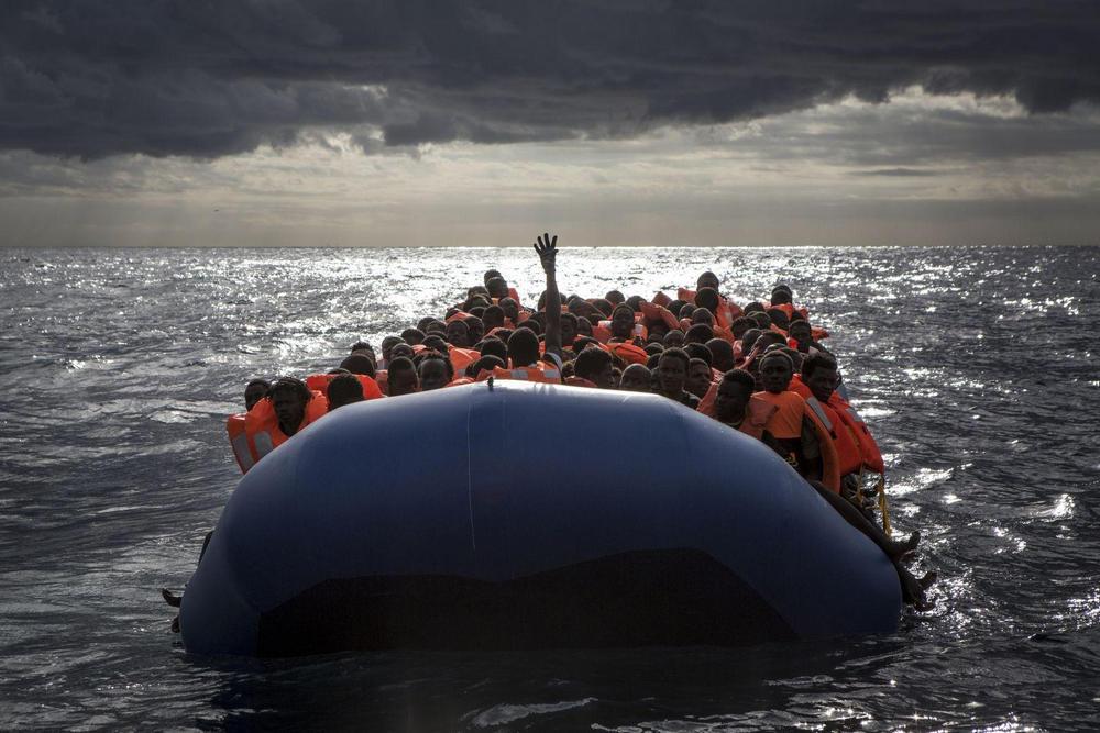 Средиземноморская миграция, Средиземное море - 1