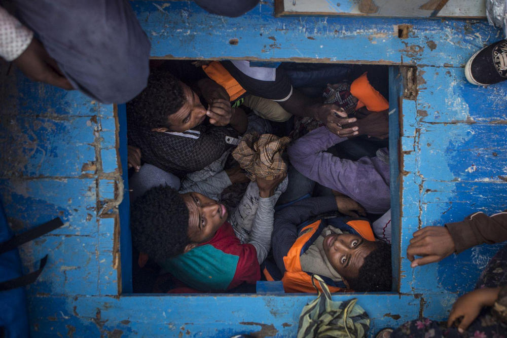 Средиземноморская миграция, Средиземное море - 3