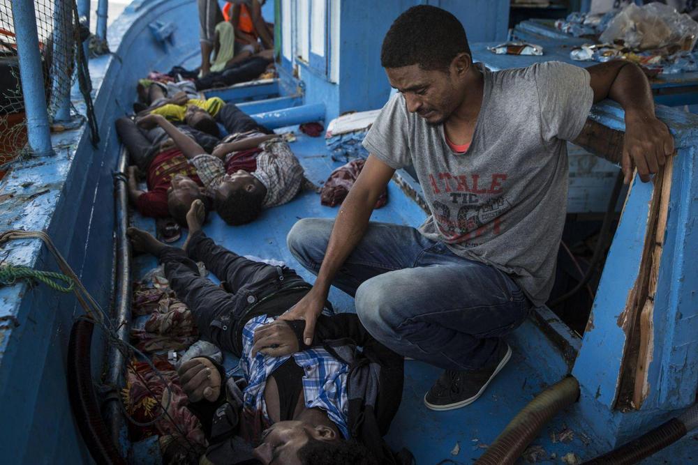 Средиземноморская миграция, Средиземное море - 4