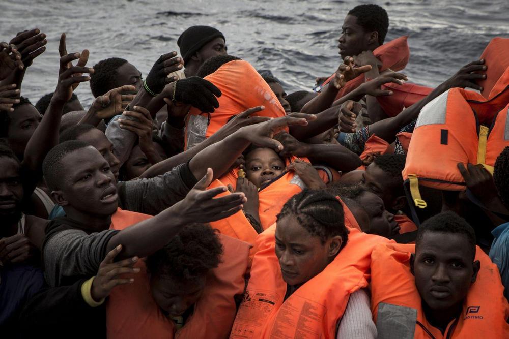 Средиземноморская миграция, Средиземное море - 7