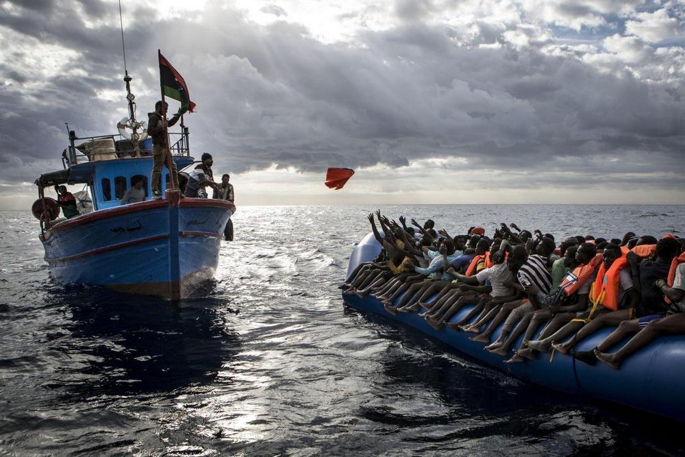 Средиземноморская миграция, Средиземное море - 9