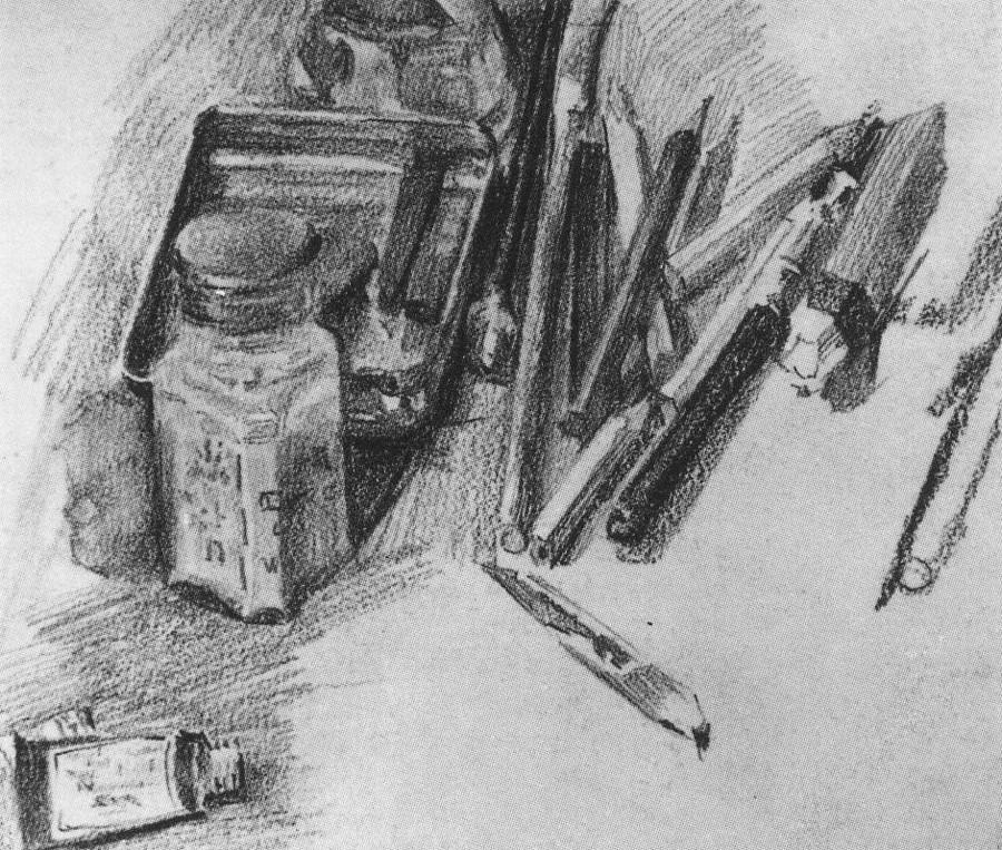 наброски и учебный рисунок в.а.могилевцев