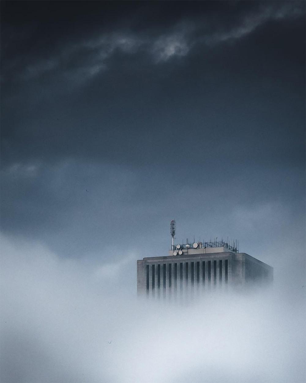 Хмурый Чикаго фотографа Майка Мейерса 1