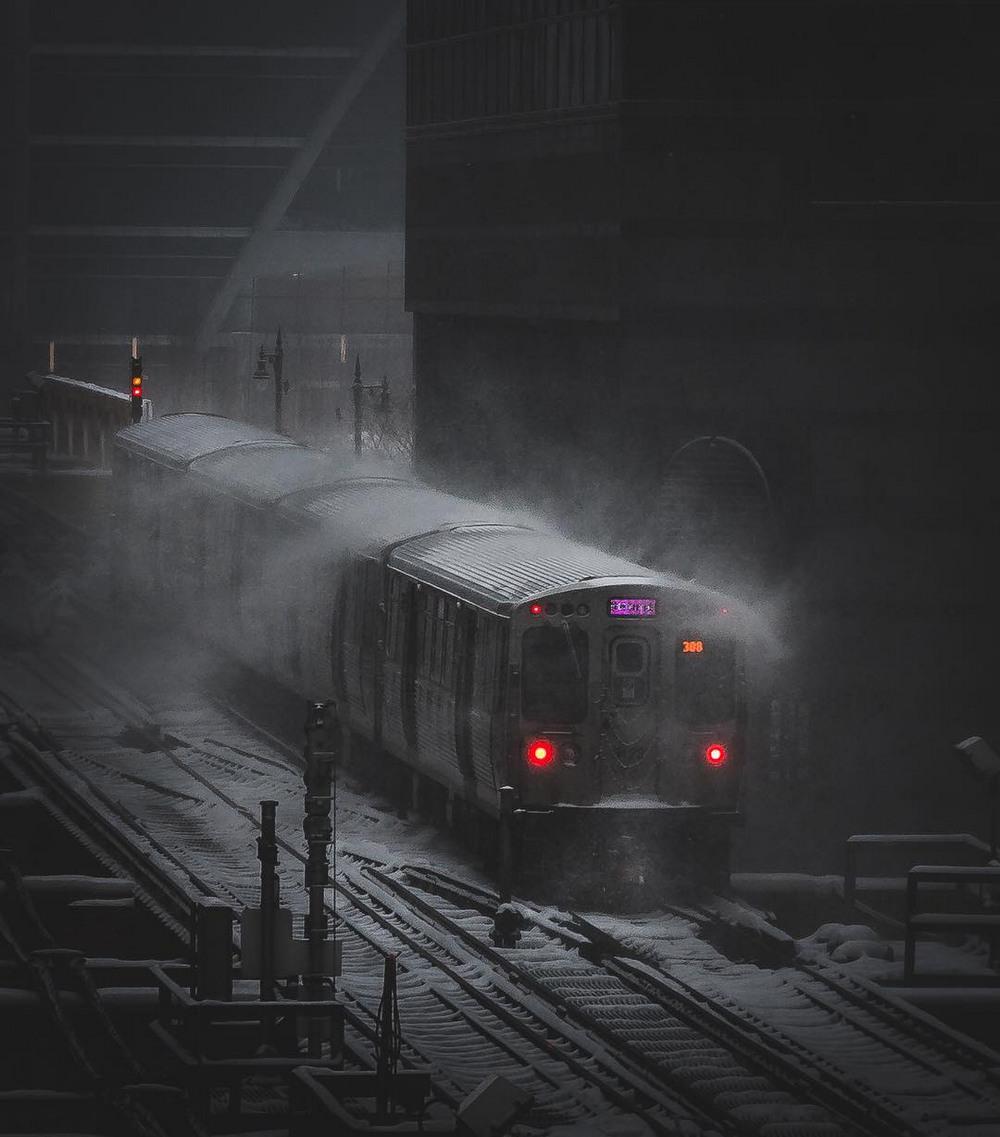 Хмурый Чикаго фотографа Майка Мейерса 10