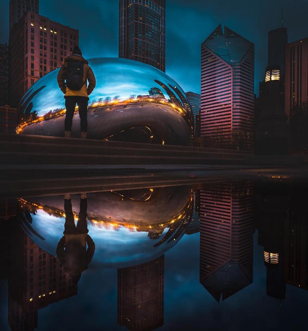 Хмурый Чикаго фотографа Майка Мейерса 12