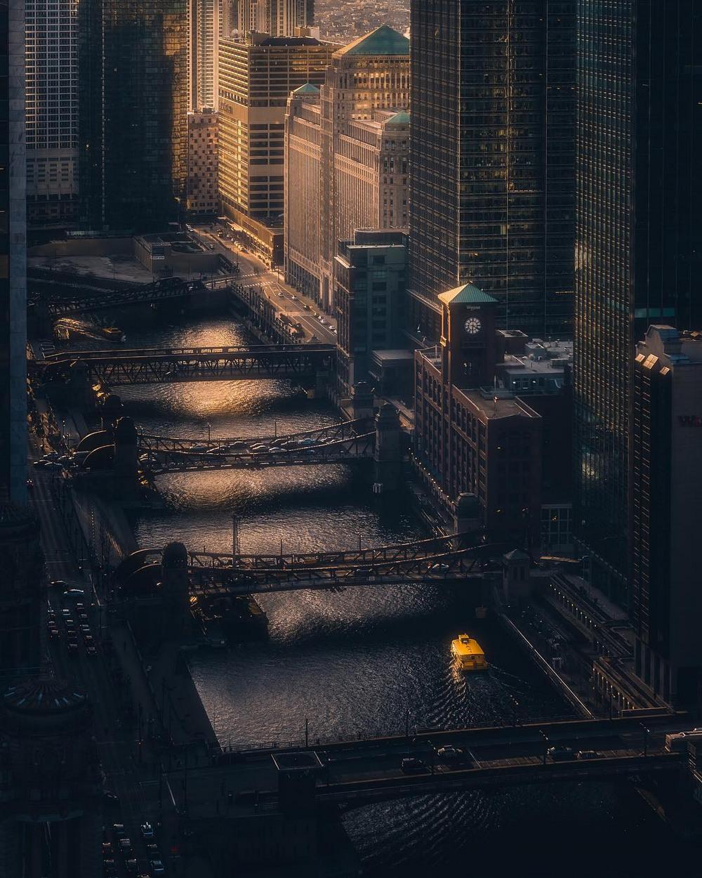 Хмурый Чикаго фотографа Майка Мейерса 13