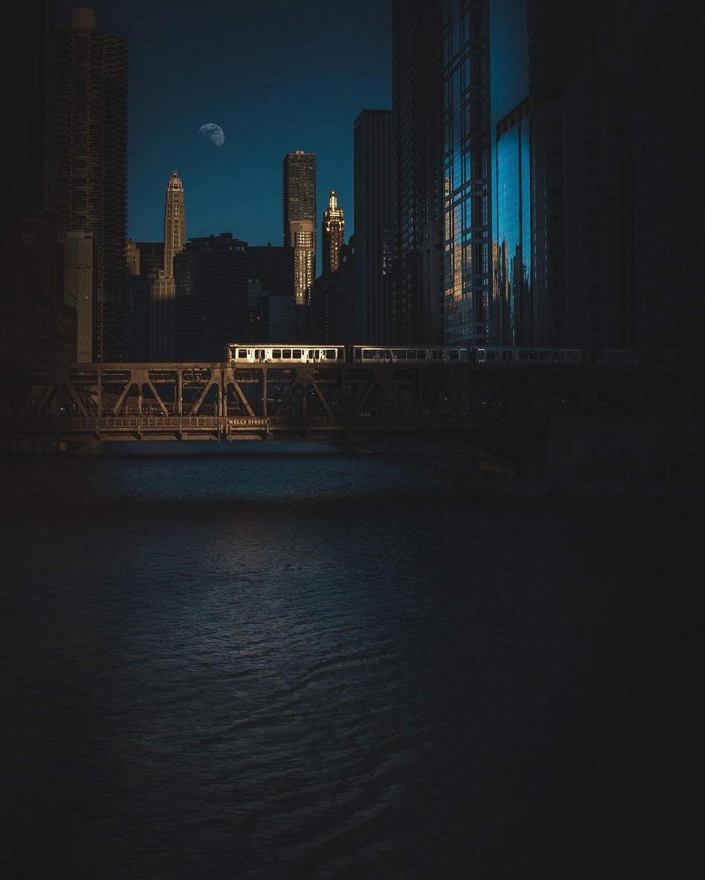Хмурый Чикаго фотографа Майка Мейерса 15