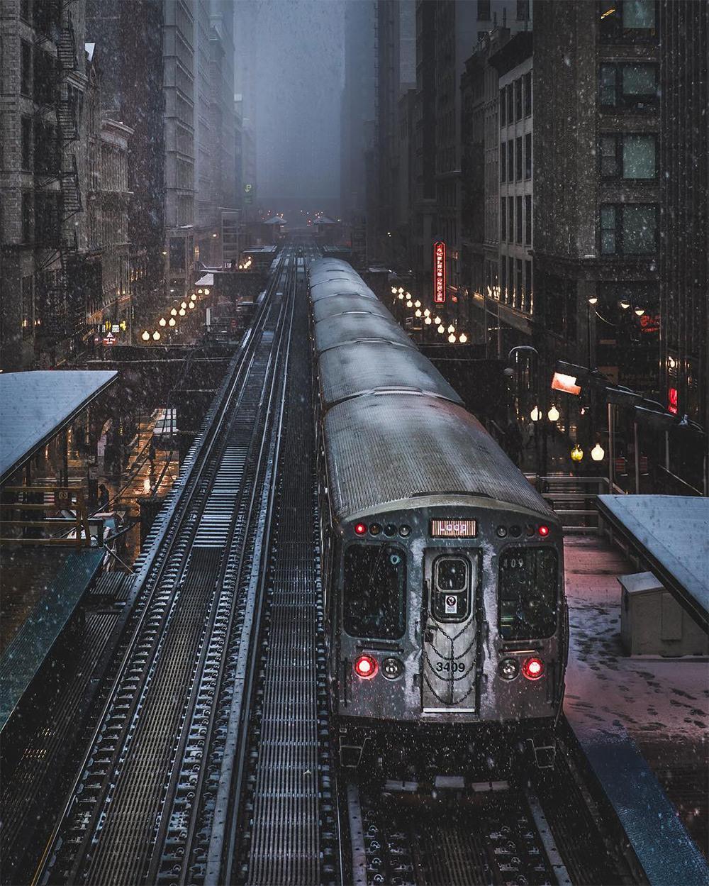 Хмурый Чикаго фотографа Майка Мейерса 3