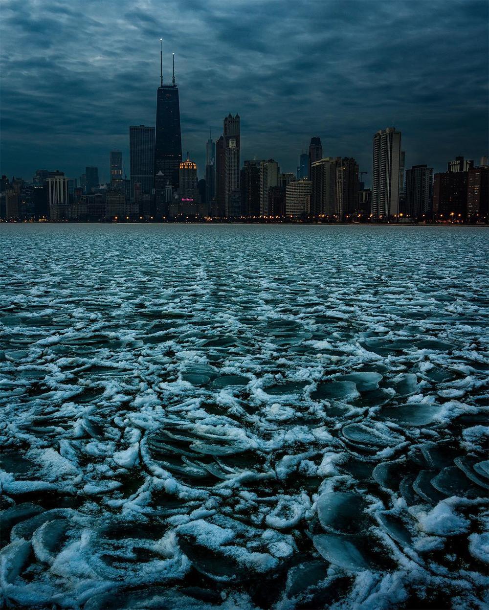 Хмурый Чикаго фотографа Майка Мейерса 4