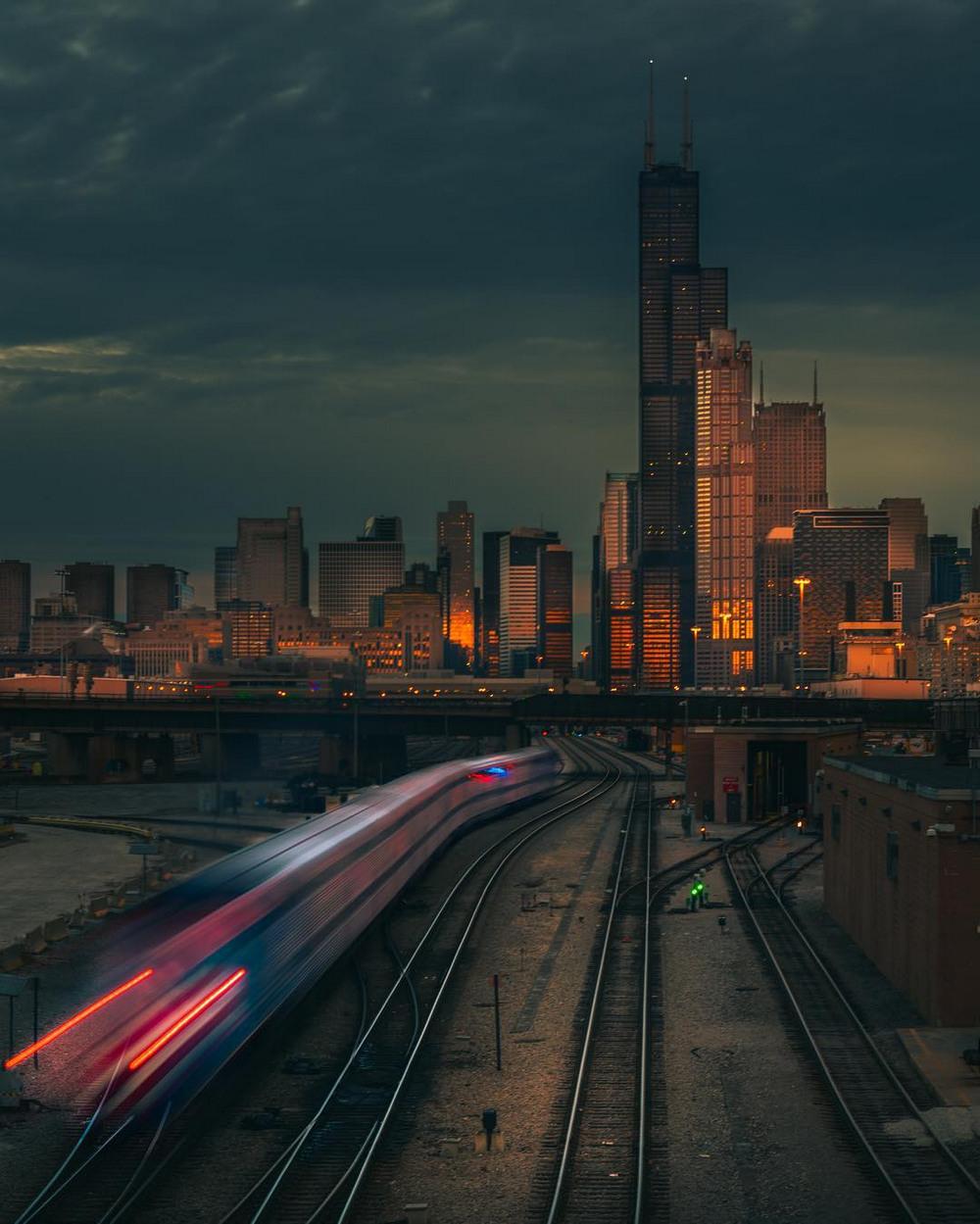 Хмурый Чикаго фотографа Майка Мейерса 6