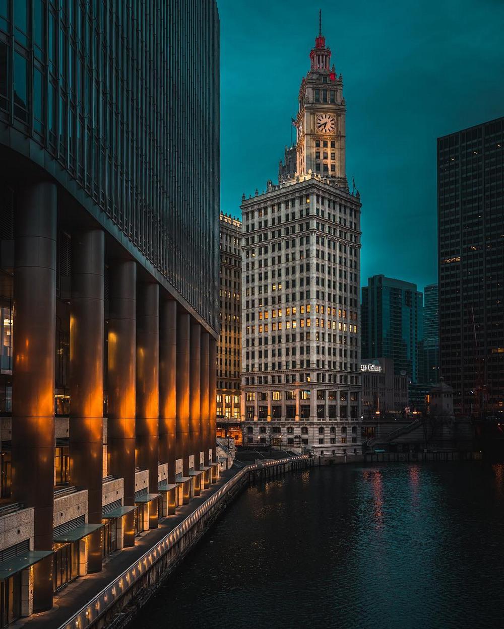 Хмурый Чикаго фотографа Майка Мейерса 8